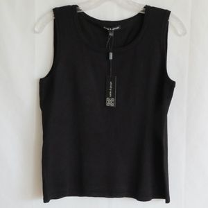 Cable & Gauge Solid Knit Shell Tank